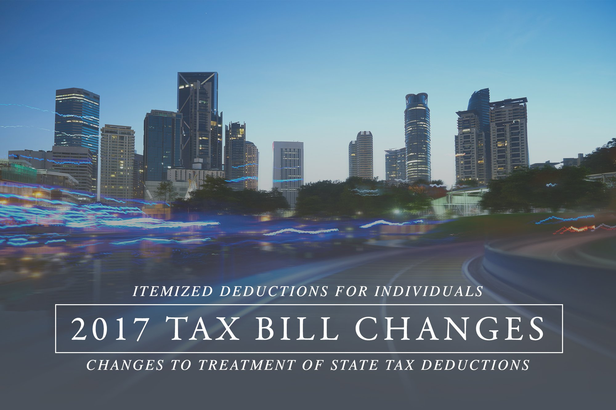 State tax deductions